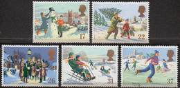 GREAT BRITAIN 1990 Christmas - Nuevos