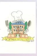 CPA Patrick HAMM Ferme Auberge à La Table Du Village 53, Rue Du Châtelet 67270 SAESSOLSHEIM - Hamm