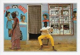 Côte D'Ivoire Bouaké Façade De Salon De Coiffure (2 Scans) - Ivory Coast