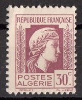 Algeria 1941 Sc. 173 Marianne Nuovo MNH - Algeria (1924-1962)