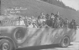 "ISERE  - Belle Carte Photo Autobus "" Repellin & Traffort "" Grenoble  En 1932 A La Grande Chartreuse - Frankreich"