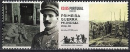 Portugal 2017 Oblitéré Used Anibal Milhais Soldat Première Guerre Mondiale SU - 1910-... Republik