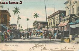 BANGALORE STREET IN THE CITY INDE INDIA 1905 - India