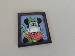 Figurine Minnie Mouse Cadre Walt Disney Productions , Wonderplast Made In Italy - Disney
