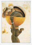 Niger Enfant Portant Des Calebasses (2 Scans) - Niger