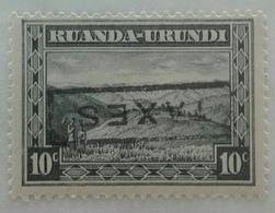 Uitzonderlijke - Exeptionelle - 1931 - 10c - Met TAXES - MNH - Ruanda-Urundi