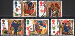 GREAT BRITAIN 1991 Christmas: Illuminated Manuscripts - 1952-.... (Elizabeth II)
