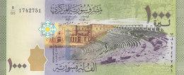 SYRIA 1000 LIRA POUNDS 2013 P-116 UNC */* - Siria