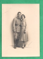 Photo Militaire Du 3eme Regiment  Photo Rahma Paris Format 12,6cm X17,8cm - Guerre, Militaire