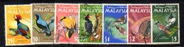 APR1173 - APR1174 - MALAYSIA 1970 , Yvert N. 22/28 Usato (2380A) Manca L'alto Valore . - Fédération De Malaya