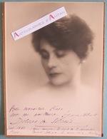 Dolores De SILVERA Artiste Lyrique Alto - Photo Dédicace Autographe Paul Ploix Opéra Comique 1930 - Musique Photographie - Autographs
