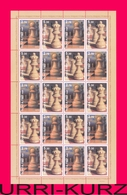 TRANSNISTRIA 2013 Sports Chess Famous People Grandmaster A.S.Lutikov Birth 60th Anniversary Sheetlet MNH - Chess