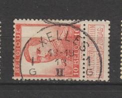 COB 118 Oblitération Centrale IXELLES 1G - 1912 Pellens