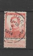 COB 118 Oblitération Centrale BRUGGE 3E - 1912 Pellens
