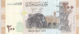 SYRIA 200 LIRA 2009 P-114 UNC */* - Siria