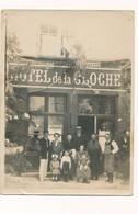 Grande Photo Hotel De La Cloche Tergnier Aisne Animée Café Hotel Restaurant - Lieux