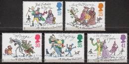 """GREAT BRITAIN 1993 Christmas: """"A Christmas Carol"""" - 1952-.... (Elizabeth II)"""