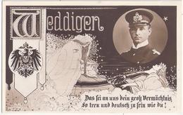 U Boot Kapitän Leutnant Otto Weddigen In Memoriam Patriotika Scapa Flow Aboukir Hogue Cressy TOP-Erhaltung Ungelaufen - Characters