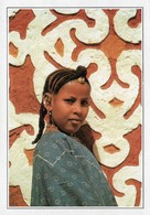 Mauritanie Jeune Mauritanienne (2 Scans) - Mauritanië