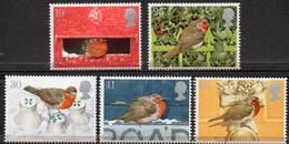 GREAT BRITAIN 1995 Christmas: Robins - 1952-.... (Elizabeth II)