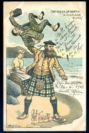 Cpa D' Afrique Du Sud  --  Illustrateur W Ralston -- The Kodak Up North , A Highland Fling  AFS2 - South Africa