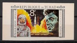Tchad - 1969 - JFK / Kennedy / Apollo - Non Dentelé / Imperf.- Neuf Luxe ** / MNH / Postfrisch - Afrika