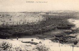 Cancale Belle Vue Du Port Bateaux Terre-Neuviers Terre-Neuvas Navires Voiliers - Cancale