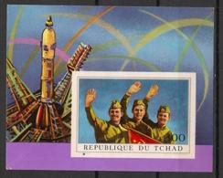 Tchad - 1972 - Bloc Feuillet BF N°Yv. 9 - Soyouz - Non Dentelé / Imperf. - Neuf Luxe ** / MNH / Postfrisch - Afrika