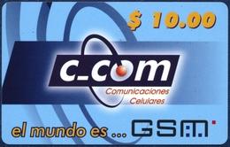 CUBA - KUBA C-COM 10 UNITS GSM PRE-PAID REMOTE MEMORY PHONECARD TELECARTE PERFECT - Cuba