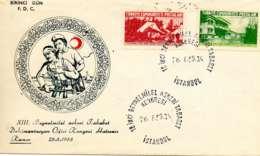 TURQUIE.1955.CROISSANT ROUGE.CONGRES  INTERNATIONAL DE MEDECINE MILITAIRE. - 1921-... République
