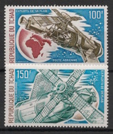 Tchad - 1974 - Poste Aérienne PA N°Yv. 146 à 147 - Skylab - Neuf Luxe ** / MNH / Postfrisch - Afrika