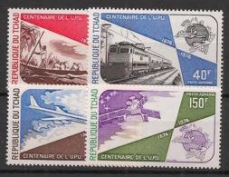 Tchad - 1974 - Poste Aérienne PA N°Yv. 152 à 155 - UPU - Neuf Luxe ** / MNH / Postfrisch - UPU (Union Postale Universelle)
