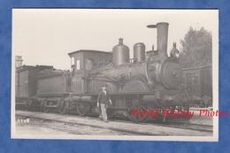 CPA Photo - Gare à Situer , France - Belle Locomotive EST Série 3 N° 111 - Chemin De Fer Cheminot Wagon Bahn Eisenbahn - Trains