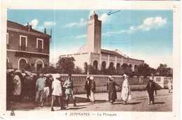 CPA ALGERIE.JEMMAPES.LA MOSQUEE - Autres Villes