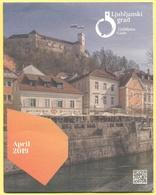 Castello Di Lubiana, Slovenia - Ljubljana Castle - Ljubljanski Grad - Opuscolo Pieghevole Illustrativo - Programmi