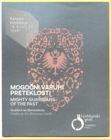 """Mostra """"Possenti Guardiani Del Passato"""" Nel Castello Di Lubiana, Slovenia - Mogočni Varuhi Preteklosti - Mighty Guardian - Dépliants Turistici"""