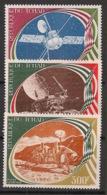 Tchad - 1977 - Poste Aérienne PA N°Yv. 205 à 207 - Espace - Neuf Luxe ** / MNH / Postfrisch - Afrika