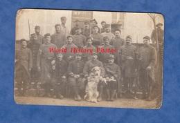 CPA Photo - MONTRIEUX - Beau Portrait De Poilu Du 113e Régiment Infanterie Territorial - 1916 Chien Fusil Baïonnette WW1 - War 1914-18