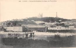 69 - LYON - Palais-de-Justice Et Côteau De Fourvière - Lyon