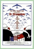 Carte Postale : Dr. Strangelove (film - Cinéma - Affiche) Illustration : Tomi Ungerer - Ungerer