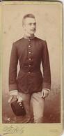 Foto CDV Österreichischer Soldat - K.u.k. Armee - Foto Szekely Wien -  Ca. 1900 - 10,5*5cm (41256) - War, Military