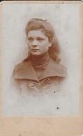 Foto Junge Frau - Ca. 1900 - 8,5*6cm (41257) - Anonymous Persons