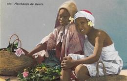 Marchands De Fleurs (2 Scans) - Cartes Postales