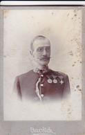 Foto Österreichischer Soldat - K.u.k. Armee - Foto Auerlich Wien - Ca. 1900 - 8,5*6cm (41258) - War, Military