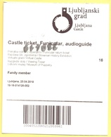 Castello Di Lubiana, Slovenia - Ljubljana Castle - Ljubljanski Grad - Funicular - Audioguide - Biglietto D'Ingresso - Ti - Biglietti D'ingresso