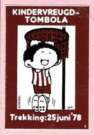 Sticker - KINDERVREUGD-TOMBOLA - Korfbal - 1978 - Autocollants
