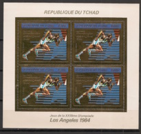 Tchad - 1983 - Poste Aérienne N°Yv. 264 - Los Angeles / Olympics - KLB OR - Neuf Luxe ** / MNH / Postfrisch - Ete 1984: Los Angeles