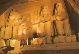 Egypte Temple D'Abou Simbel (2 Scans) - Assouan