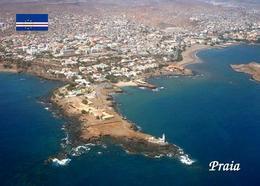 Cape Verde Praia Aerial View New Postcard Kap Verde - Cap Verde