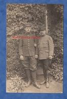 CPA Photo - SAINT BRIEUC - Beau Portrait D'un Poilu Du 115e Régiment & Officier Du 74e - 1915 - R. Binet - War 1914-18